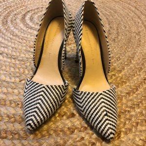 Banana Republic B&W heels